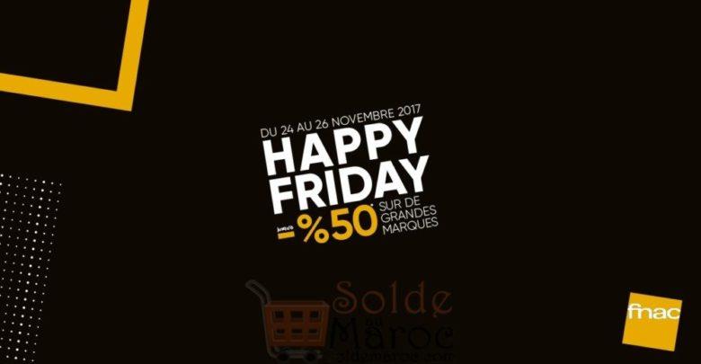 Photo of Happy Friday Fnac Maroc du 24 au 26 Novembre 2017