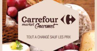Catalogue Carrefour Market Gourmet Du 23 Novembre Au 13 Décembre 2017