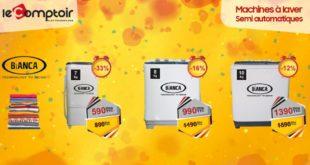 Promo Le Comptoir Electro Machine à Laver Bianca