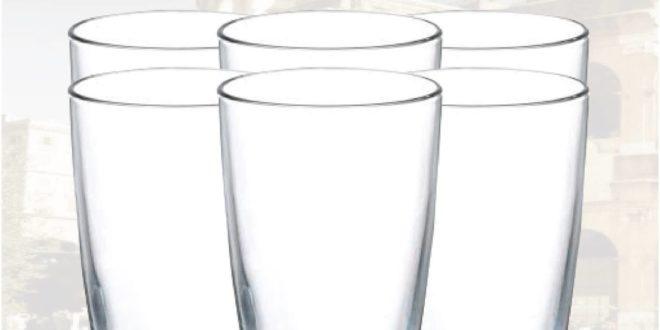 Promotion Yatout Home Set de 6 verres 90dhs