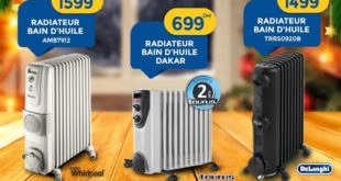 Promo Marjane Chauffages & Radiateur Bain d'huile