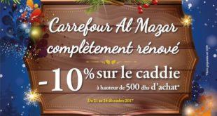Catalogue Carrefour Almazar Offres exceptionnelles du 21 au 31 Décembre 2017