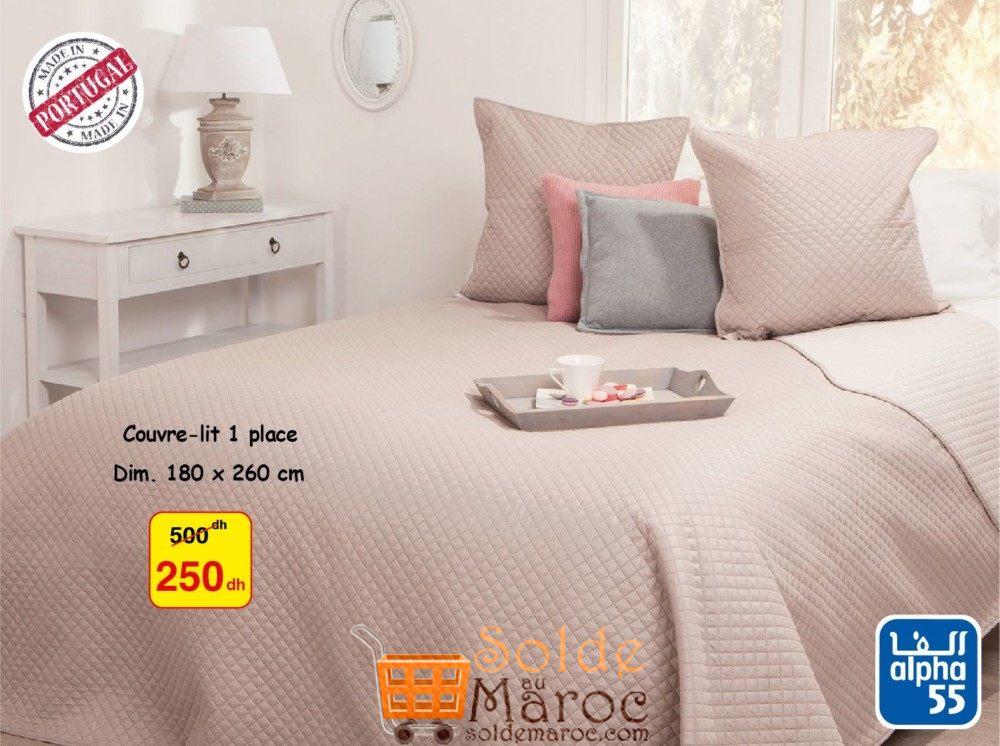 promotion couvre lit Promo Alpha55 Couvre Lit 250Dhs – Promotion du Maroc promotion couvre lit