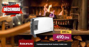 Promo Le Comptoir Electro Thermoconveteur Taurus Turbo 2000 490Dhs