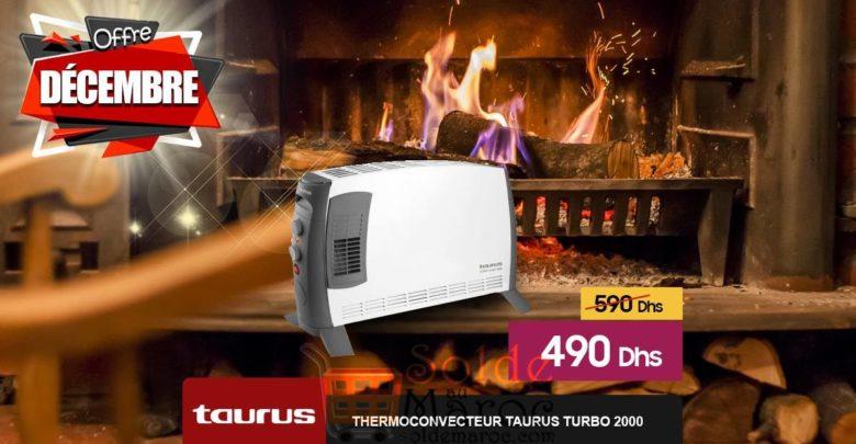Photo of Promo Le Comptoir Electro Thermoconveteur Taurus Turbo 2000 490Dhs