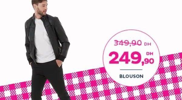 Promo Tati Maroc Spécial Mode Blouson pour Homme 249Dhs
