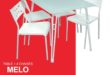 Solde Kitea MELO Tables + 4 chaises 1590Dhs