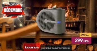 Promo Le Comptoir Electro Convecteur Tropicano 2.5 Taurus 299Dhs