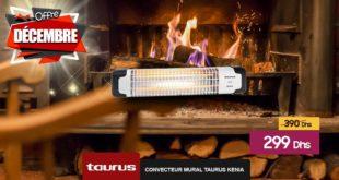 Promo Le Comptoir Electro Convecteur Mural Taurus Kenia 299Dhs