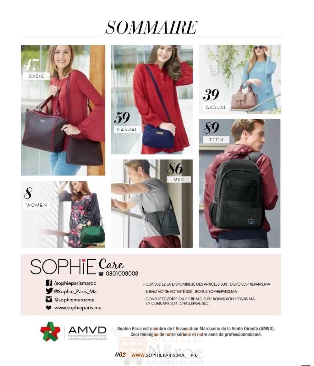 Catalogue sophie paris maroc janvier 2018 les soldes et promotions du maroc - Les soldes janvier 2017 ...
