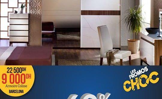 Les Promos Choc chez Istikbal Maroc Armoire Coulissante 9000Dhs
