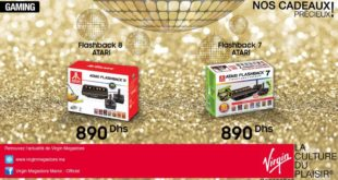 Promo Virgin Megastore Maroc Gaming Atari Flashback