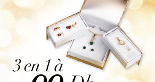Promo Avon Maroc 3 ensembles aux reflets précieux en un seul pack