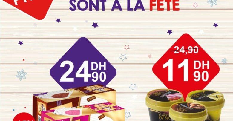 Photo of 55% Réduction Leader Price Maroc pot de glace Carte D'Or 11,90Dhs