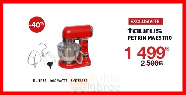 Photo of 40% Réduction Electroplanet Petrine Maestro Taurus 1499Dhs