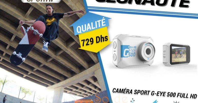 Photo of Nouveau chez Decathlon Caméra sport G-EYE 500 FULL HD WIFI 729Dhs