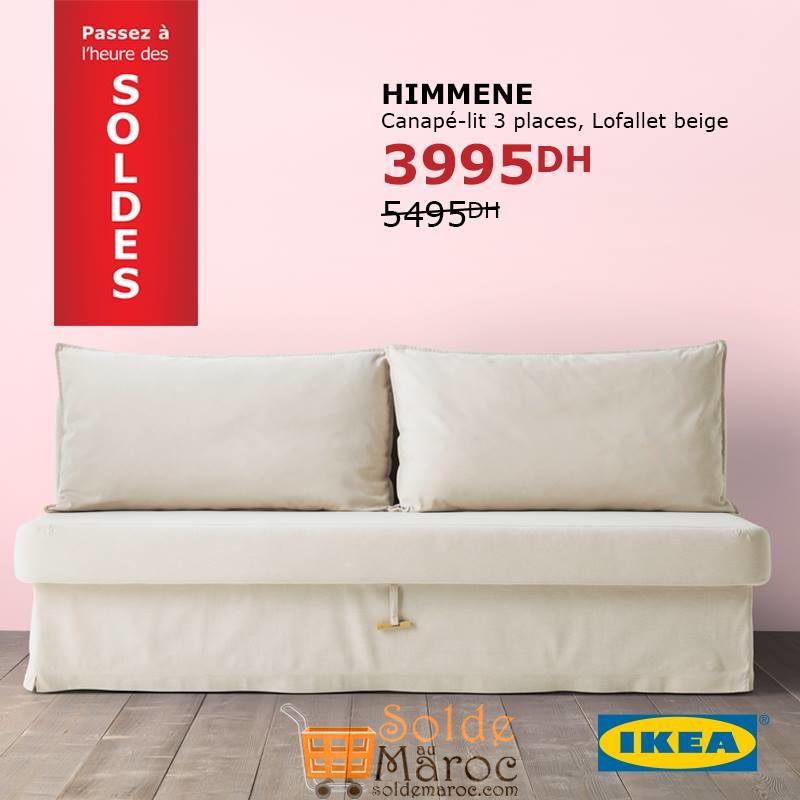 Promo Ikea Maroc Canape Lit Himmene Solde Et Promotion Du Maroc