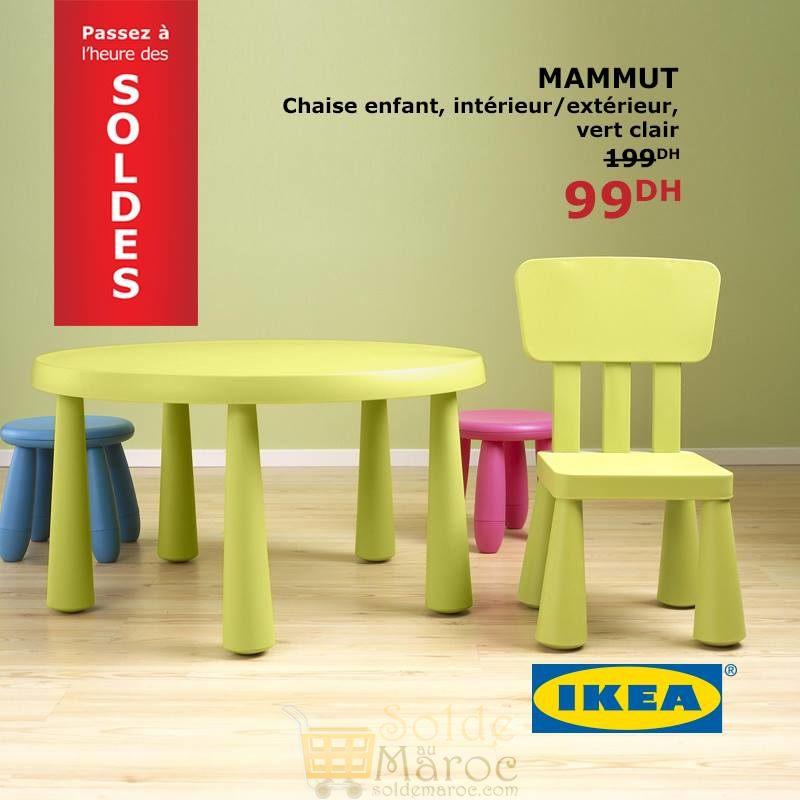 solde ikea maroc chaise enfant mammut vert clair 99dhs solde et promotion du maroc. Black Bedroom Furniture Sets. Home Design Ideas