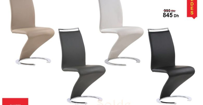 Photo of Solde Kitea Chaises VIRAGE 845Dhs