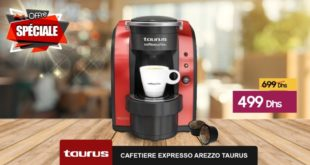 Promo Le Comptoir Electro Cafetière Expresso Arezzo Taurus 499Dhs