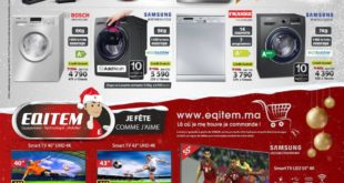 Catalogue Eqitem Promo Fin d'année Jusqu'au 2 Janvier 2018