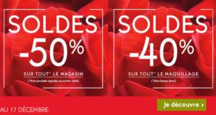 Soldes Yves Rocher Maroc -50% -40% du 14 au 17 Décembre 2017