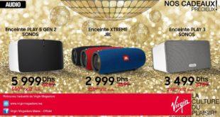 Promo Virgin Megastore Maroc Enceinte Audio