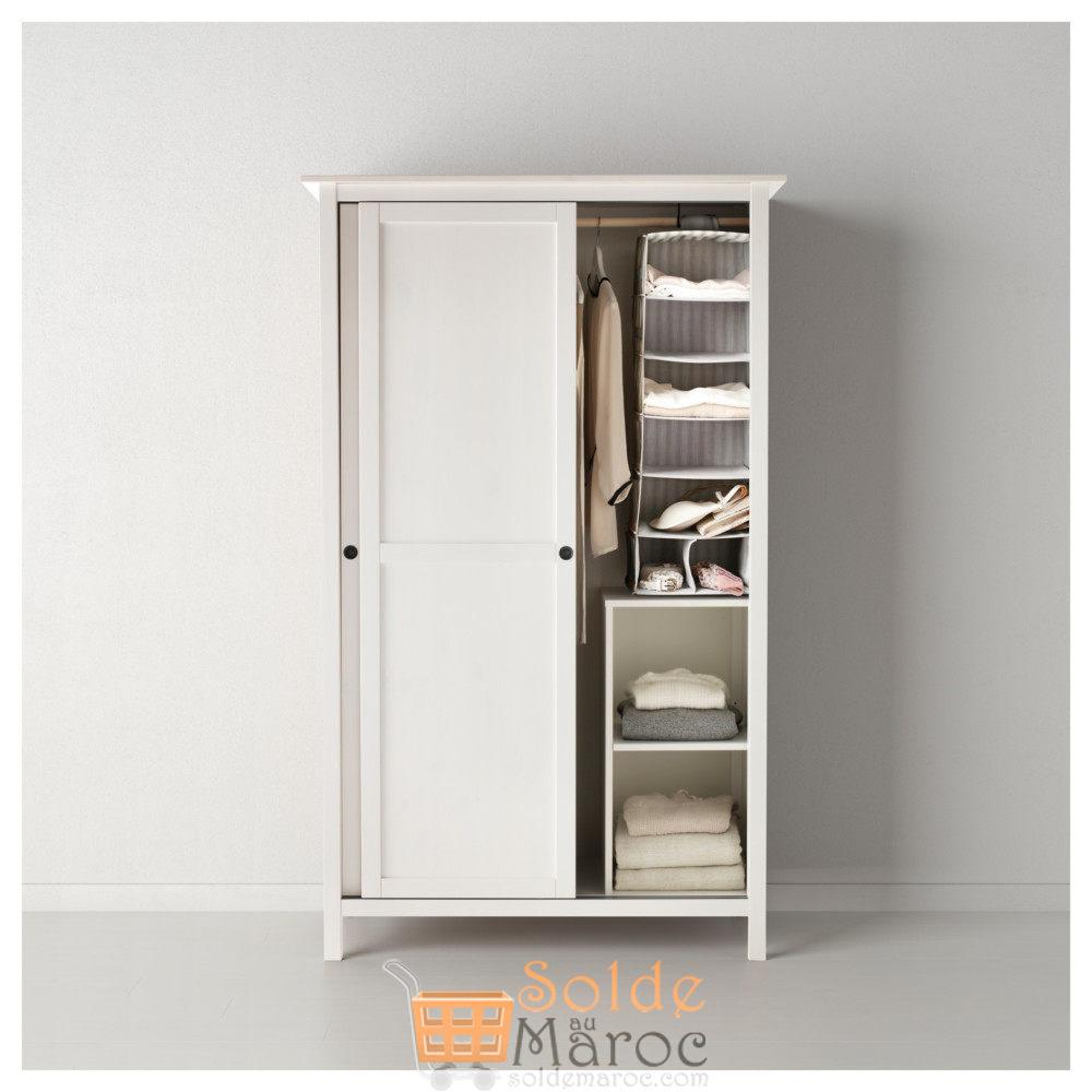 Soldes Ikea Maroc Penderie A 2 Portes Coulissantes Hemnes