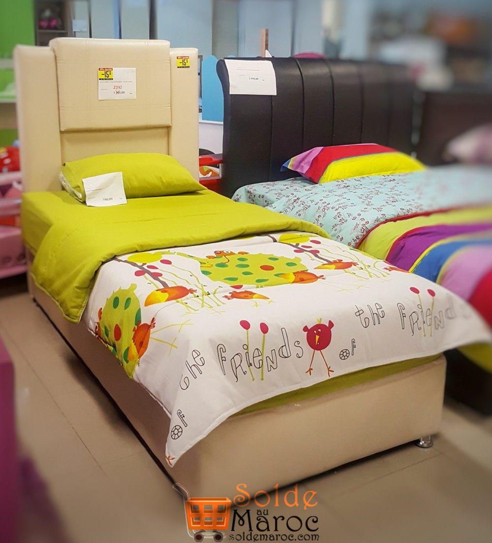promo yatout home sommier t te de lit arcadia 90 190 2890dhs solde et promotion du maroc. Black Bedroom Furniture Sets. Home Design Ideas