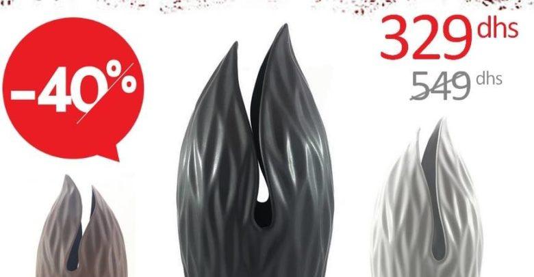 Photo of 40% Réduction Azura Home Sélection de Vase Design