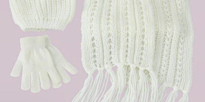 Soldes Tati Maroc Bonnet + l'écharpe + les gants 79,90Dhs