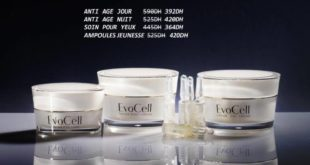 Promo Evora Maroc Pack Anti Age OR et Caviar