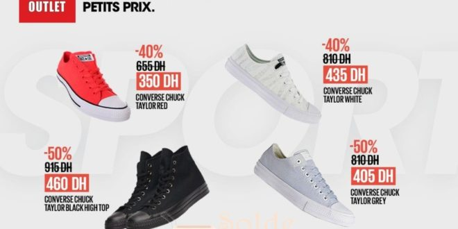 Promo Bd Morocco Outlet All Star de Converse Jusqu'à -50%