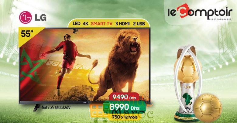 Photo of Promo Le Comptoir Electro Smart TV 50″ 4K LG 8990 Dhs