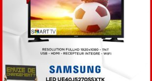 "Promo Electroplanet Samsung Smart TV FULL HD 40"" 4499Dhs"