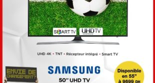 """Promo Electroplanet SAMSUNG SMART TV ULTRA HD 50"""" 6999Dhs"""