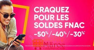 Soldes chez Fnac Morocco Mall et Fnac Tanger