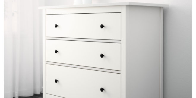 Soldes Ikea Maroc Commode HEMNES 3tiroirs Blanc 1595Dhs