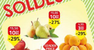 Soldes Leader Price Maroc Fruits de Saison