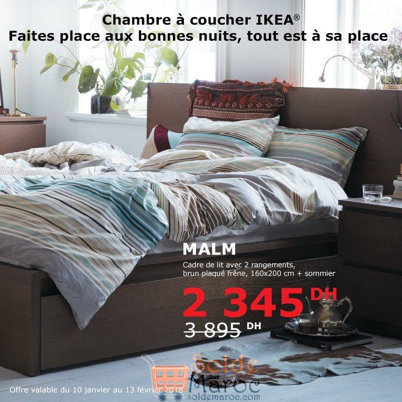 Chambre A Coucher Ikea Maroc : Soldes ikea maroc chambre à coucher malm dhs les