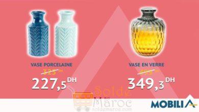 Photo of Hmizate Mobilia Vase en Verre & Porcelaine