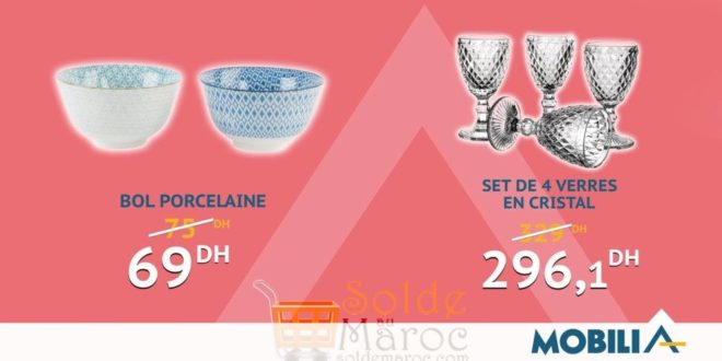 Hmizat Mobilia Bol Porcelaine & Set en Cristal