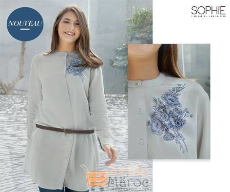 Photo of Promo Sophie Paris Maroc Tunic GRETA 209Dhs