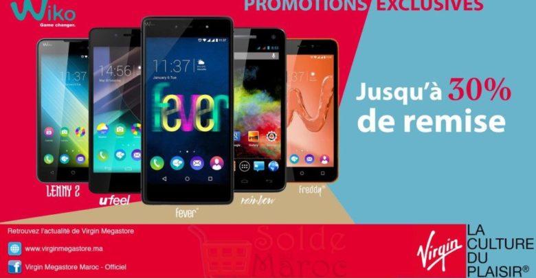 Photo of Promo Virgin Megastore Maroc Smartphone Wiko Jusqu'à -30%