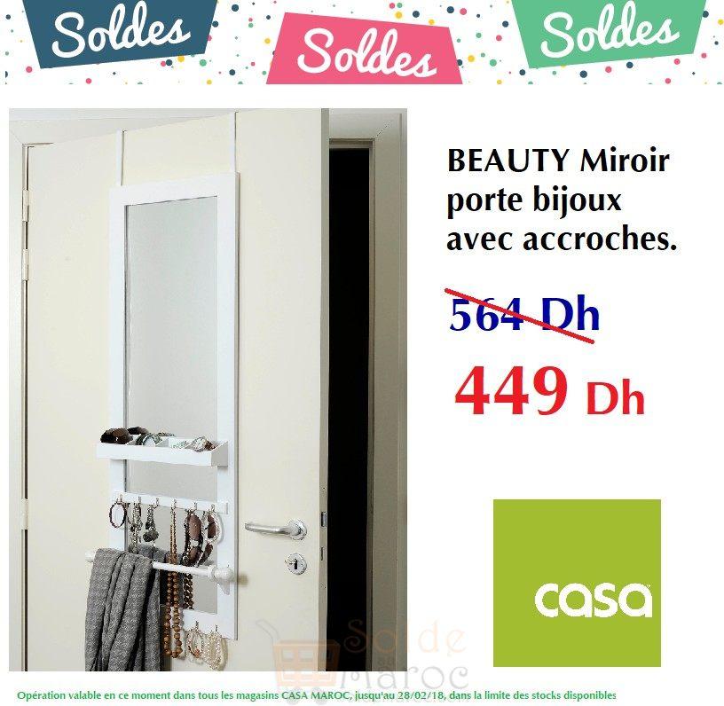 Beautiful miroir range bijoux casa pictures awesome for Casa miroir bijoux