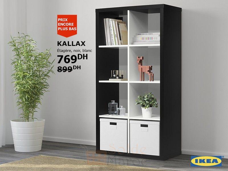 Promo Ikea Maroc étagère Kallax 769dhs Solde Et Promotion Du Maroc