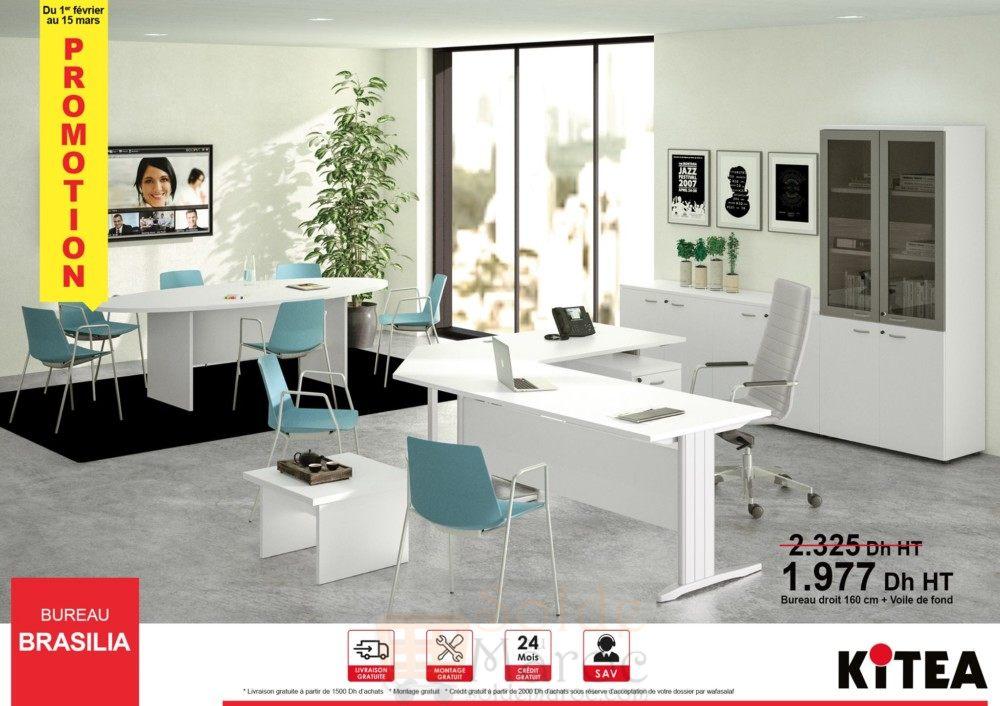 Promo kitea gamme du bureau brasilia dhs u solde et promotion