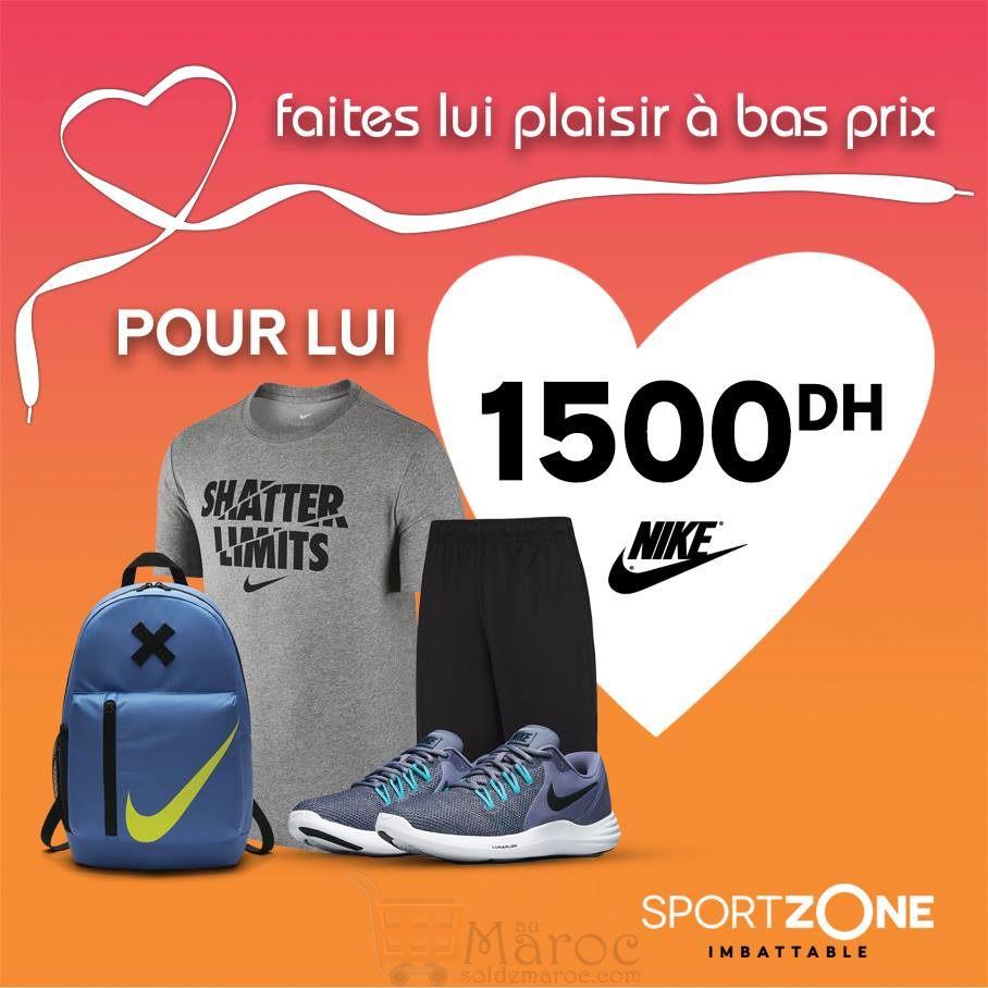 énorme réduction 2ec1c 07e65 Pack Promo Nike Homme chez Sport Zone Maroc 1500Dhs – Solde ...