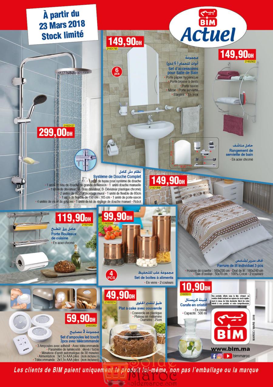 Catalogue Bim Maroc du Vendredi 23 Mars 2018