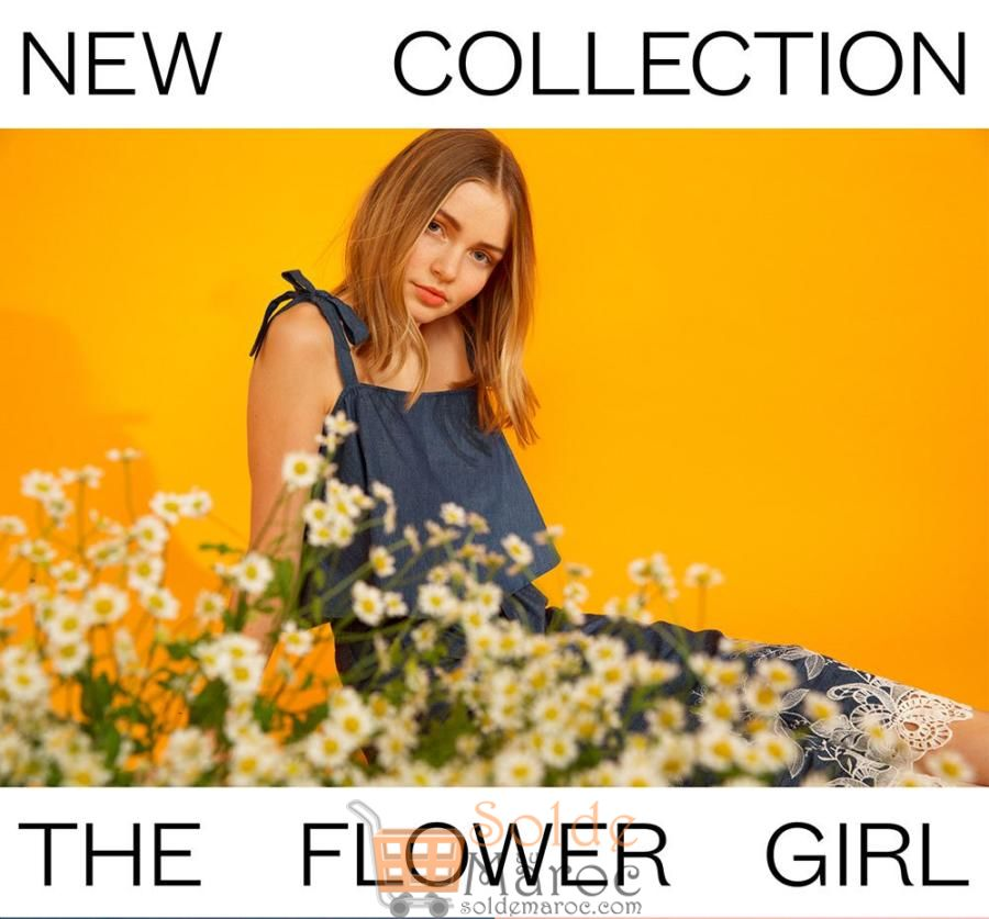 New Collection Marwa Maroc Spring Summer 2018 The Flower Girl